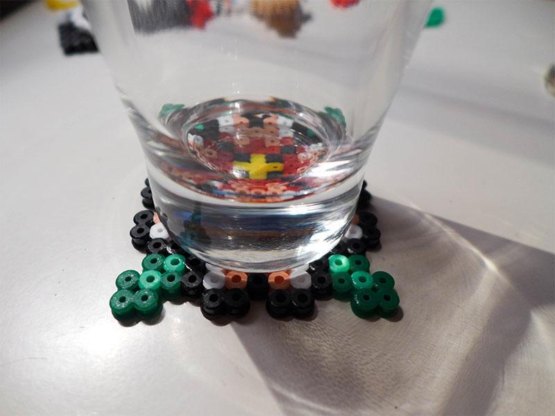dessous de verre perles hama