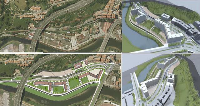proyecto de viviendas en Burtzeña
