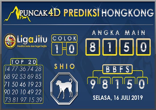 PREDIKSI TOGE L HONGKONG PUNCAK4D 16 JULI 2019