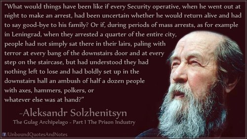 "My Daily Kona: Aleksandr I. Solzhenitsyn ""Word of warning to the ..."