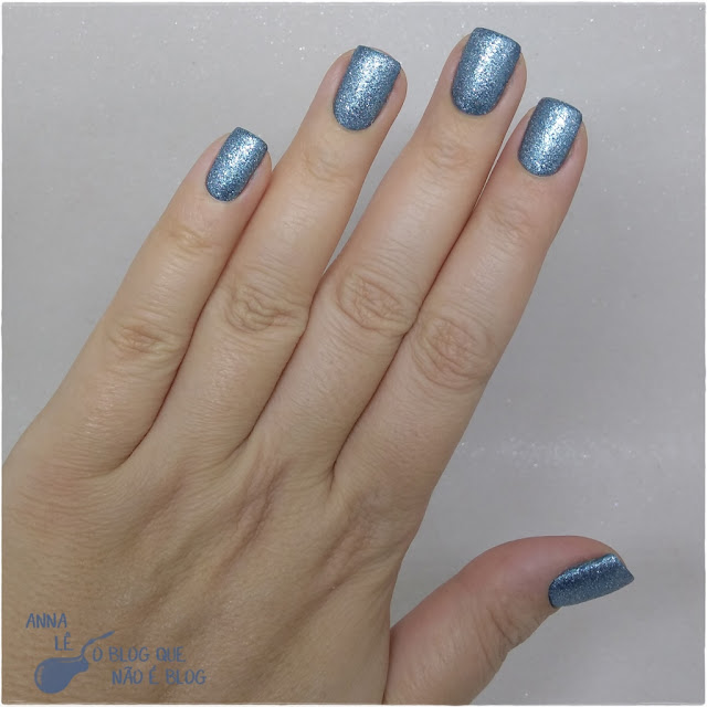 Sand Blue Star Vie Esmalte Nailpolish Liquid Sand Azul