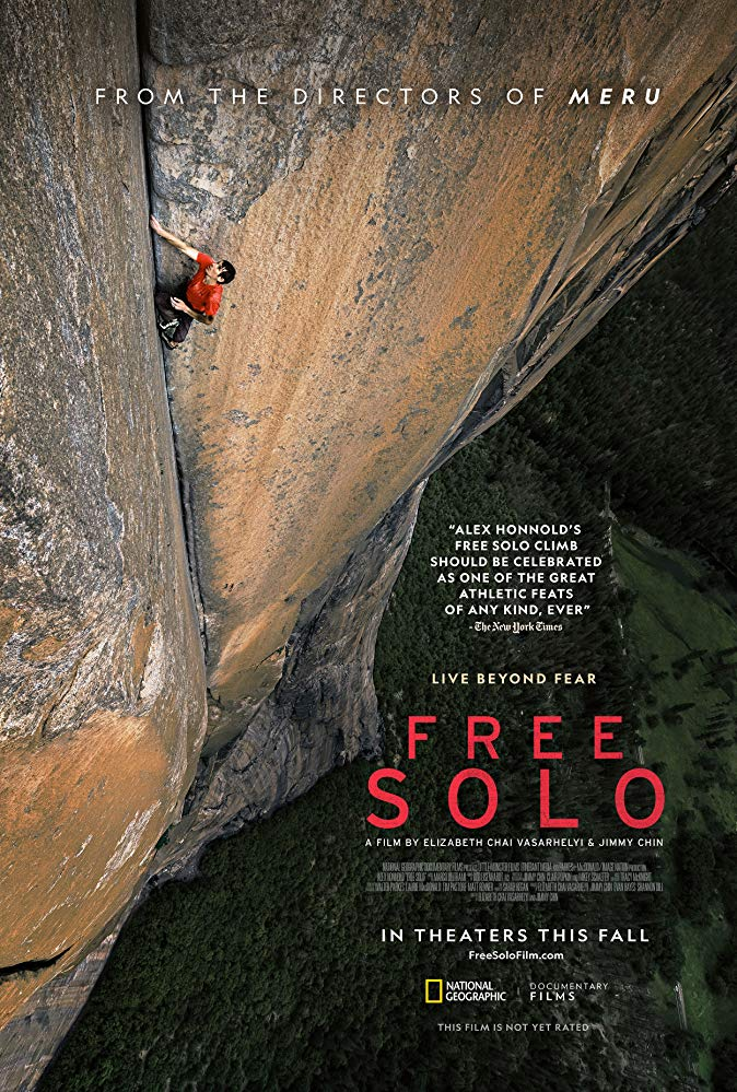 """Movie Review: """"Free Solo"""" (2018)"""