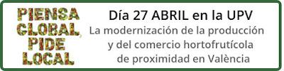 III Jornada Horticultura Sostenible, UPV