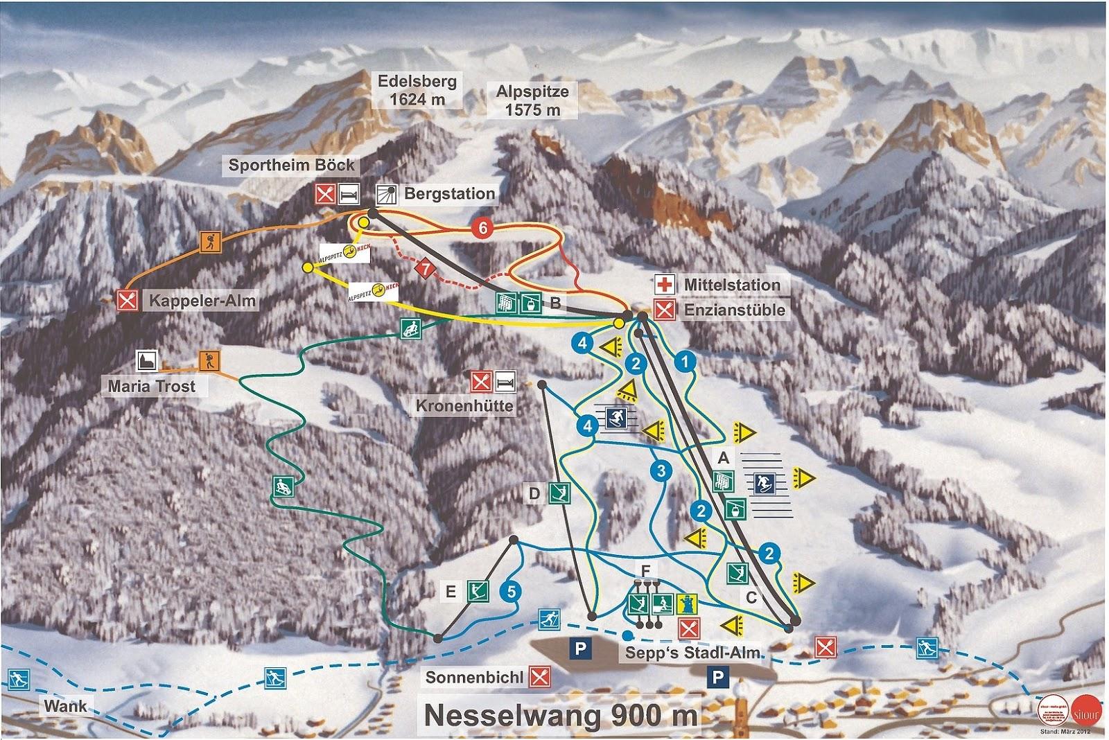 M M Nesselwang ski resort nesselwang