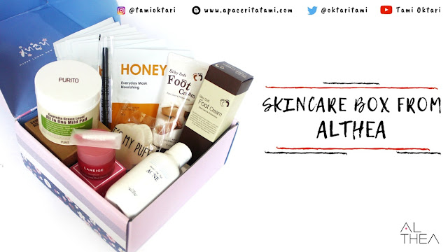 [UNBOXING] Skincare Box From Althea
