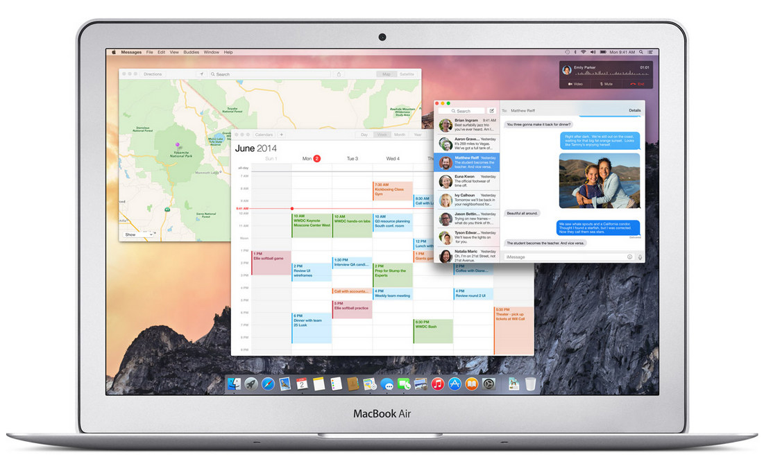 Apple OS X Yosemite 10.10 Picture