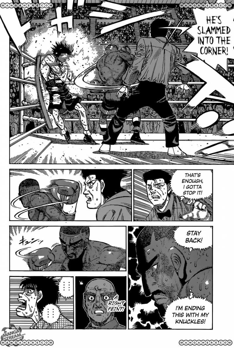 Hajime no Ippo - Chapter 1118