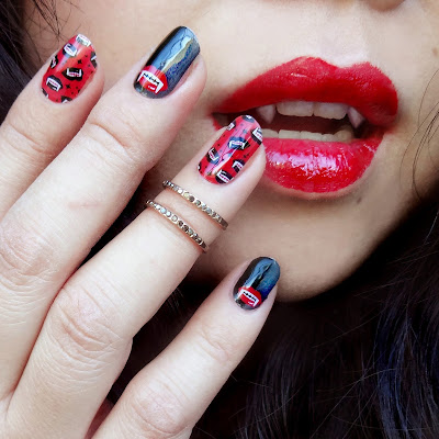 Vamp Queen Nail Art