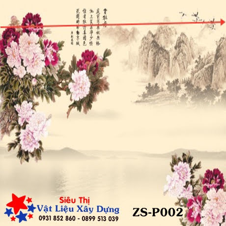 Tấm ốp PVC Tranh 3D - ZS-P002