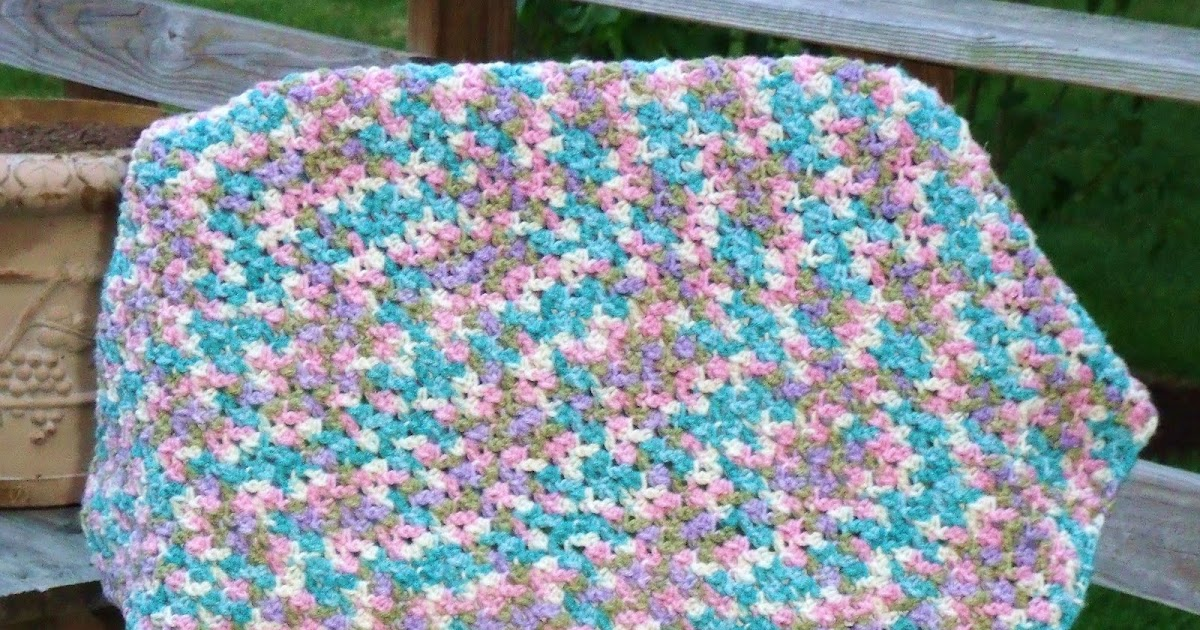 Easy Crochet Pattern: Shell Look Baby Blanket Finish