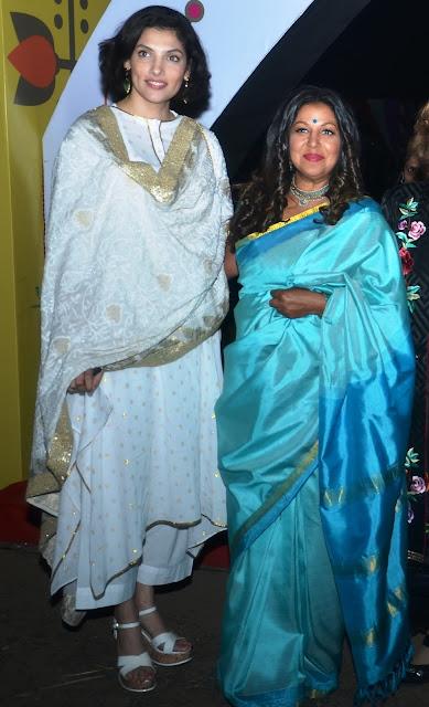 Indrani Dasgupta Paul with Priti Paul