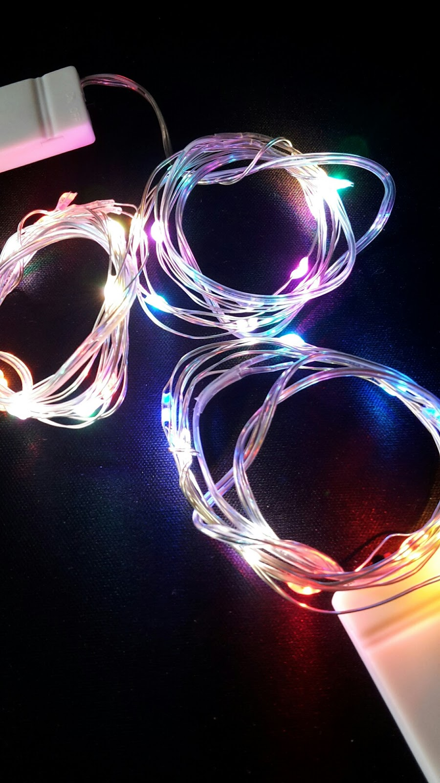 lahr2006 testet: LED Kupferdraht Lichterkette   InnooLight 3 Stück ...
