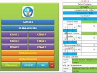 Aplikasi Daftar Keadaan Siswa Dan Guru di Sekolah dilengkapi DUK