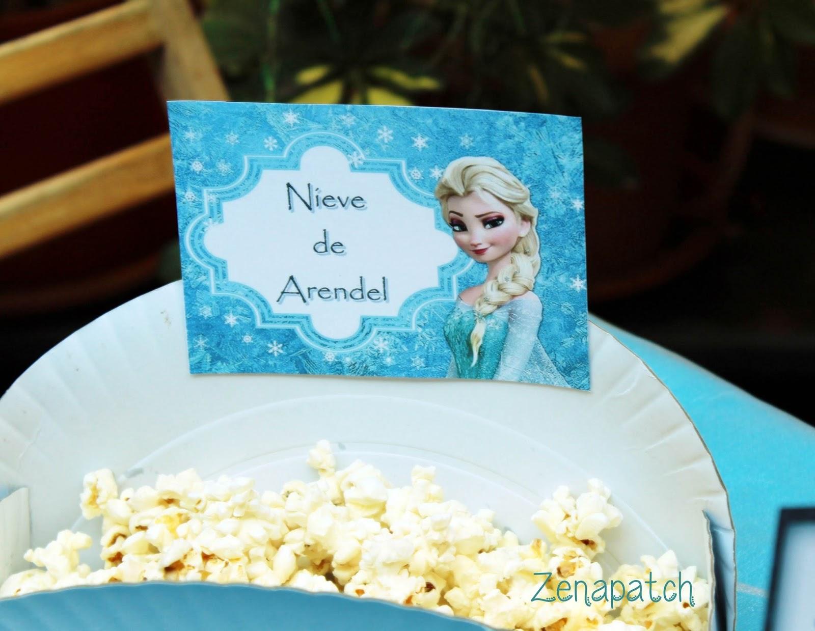 Zenapatch 10 ideas para una fiesta Frozen con