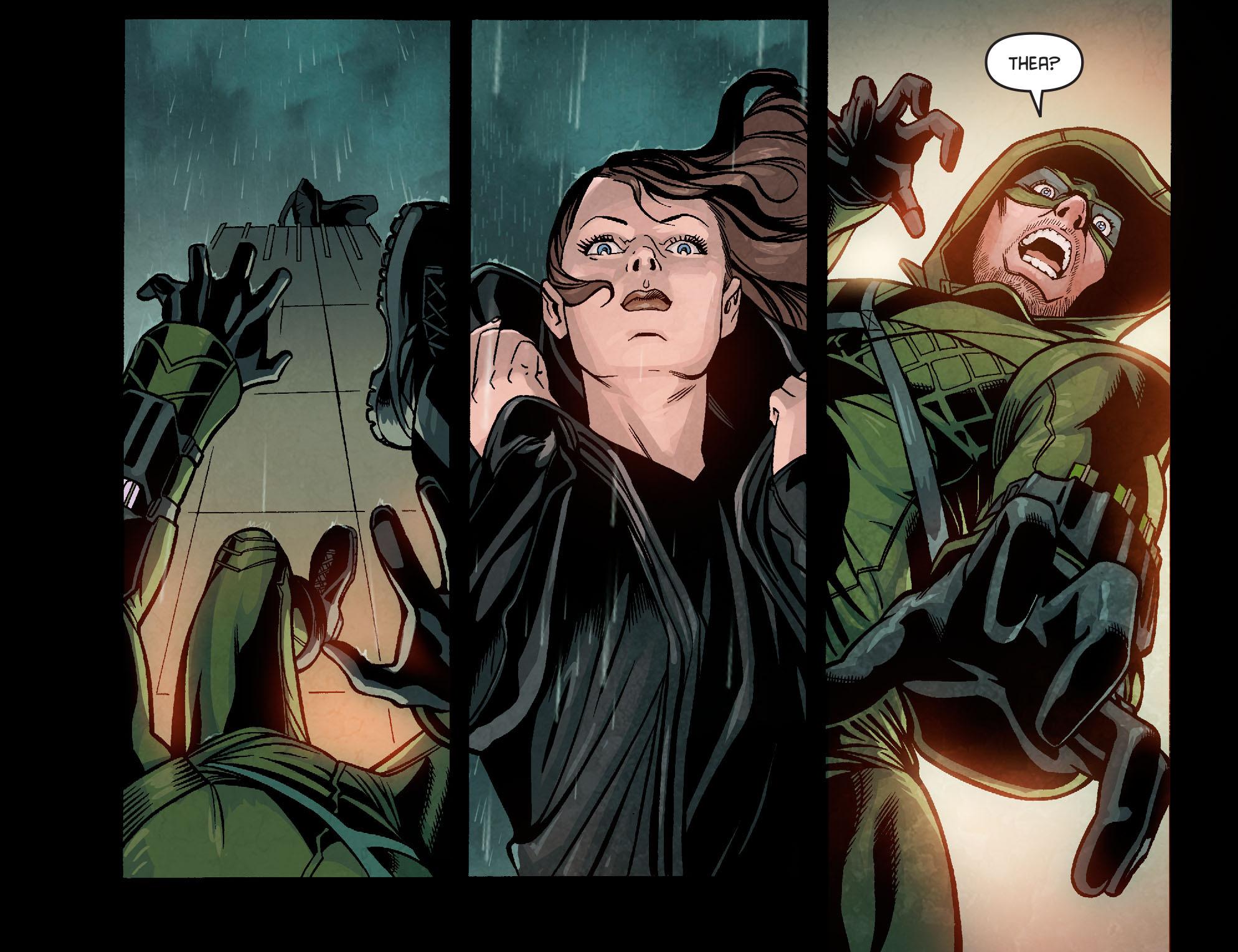 Read online Arrow: Season 2.5 [I] comic -  Issue #9 - 6