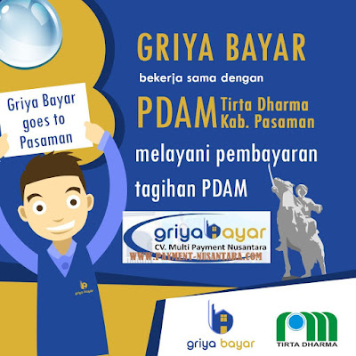 Cara Daftar Griya Bayar PDAM Kabupaten Pasaman Sumatera Barat