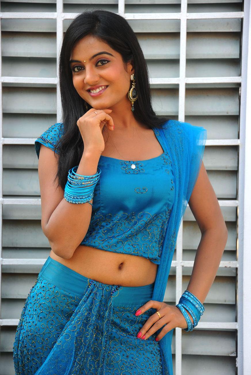 South Indian Film Actress Shruti Latest Blue Chudidaar High Quality Photo Shoots