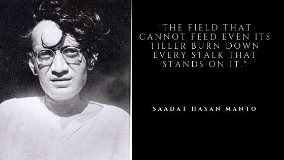Saadat Hasan Manto Inspirational Quotes | Inspirational Quotes on Sepher quotes