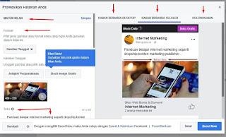 tips memasang facebook ads yang benar.