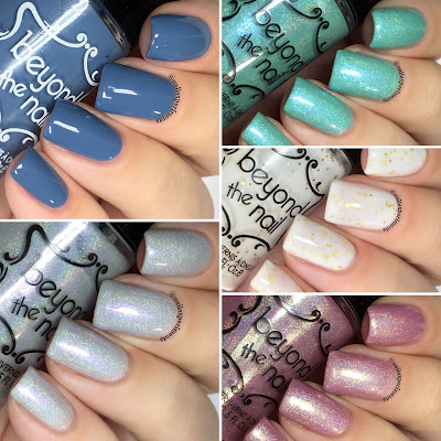 beyond the nail winter sub-zero collection swatches and review