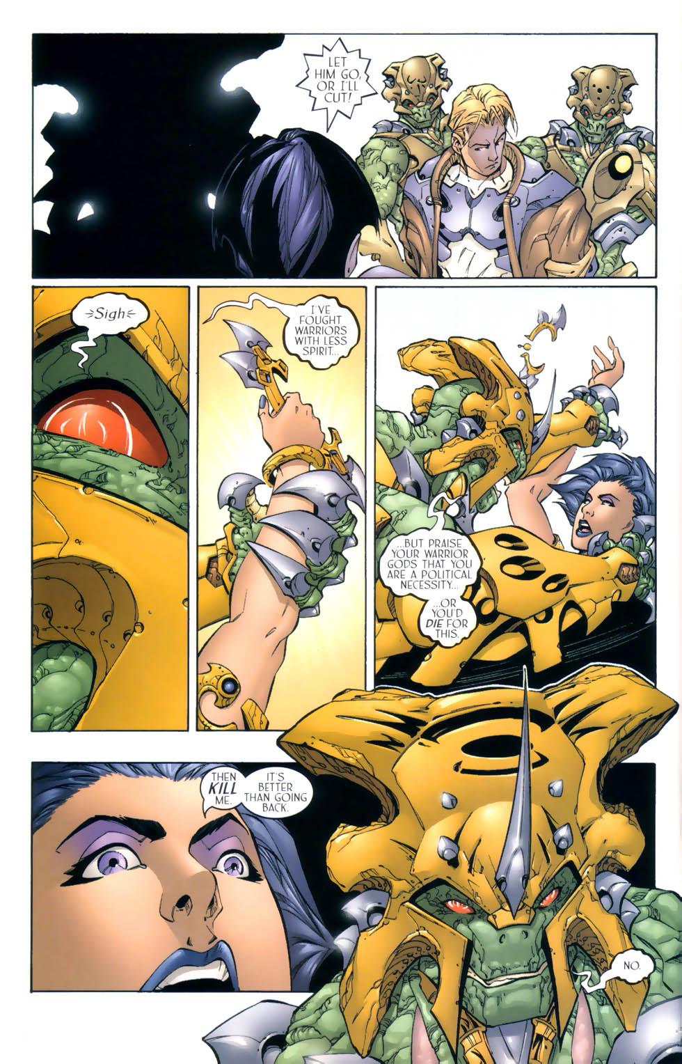 Read online Sigil (2000) comic -  Issue #4 - 21