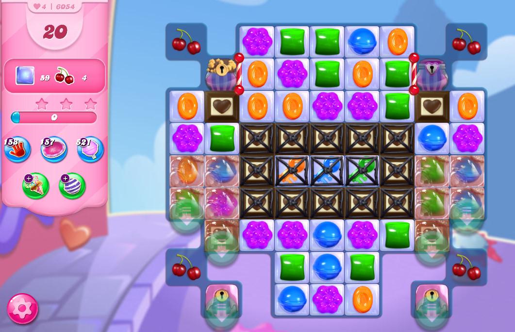 Candy Crush Saga level 6054