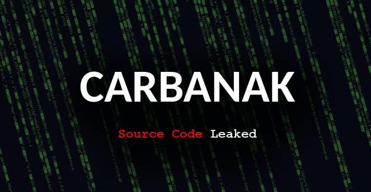 Código-fonte do malware CARBANAK encontrado em VirusTotal