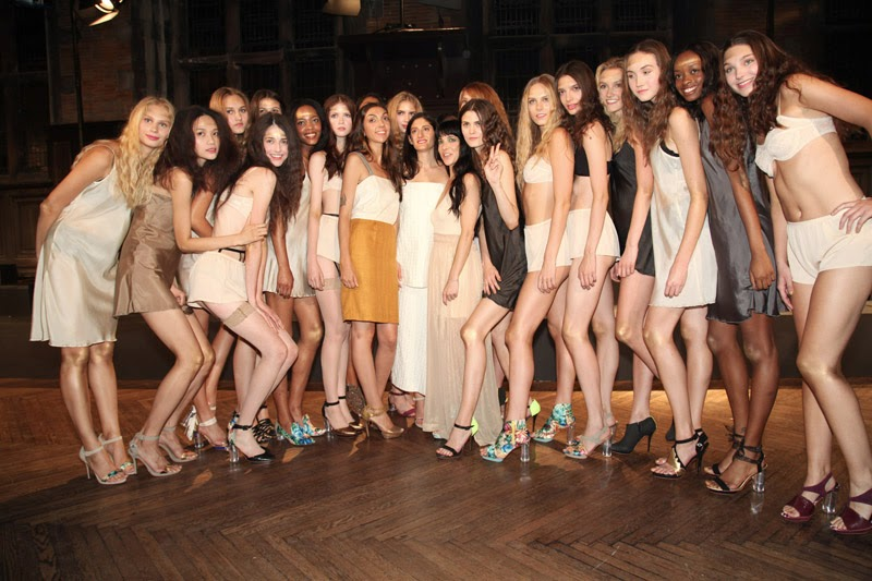 Arden Wohl x Cri de Coeur Vegan Shoes Fashion Week Spring/ Summer 2014