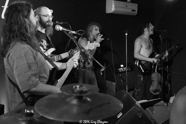 Ca déménage avec les Spams au Black Stone Live à Barbizon (C) 2016 Greg Clouzeau