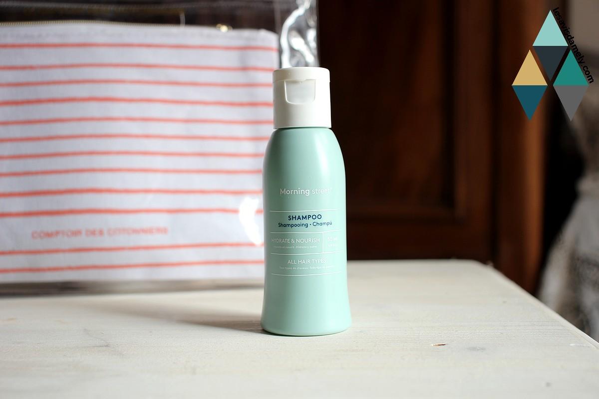 avis et test shampooing hydratant nourrissant morning street