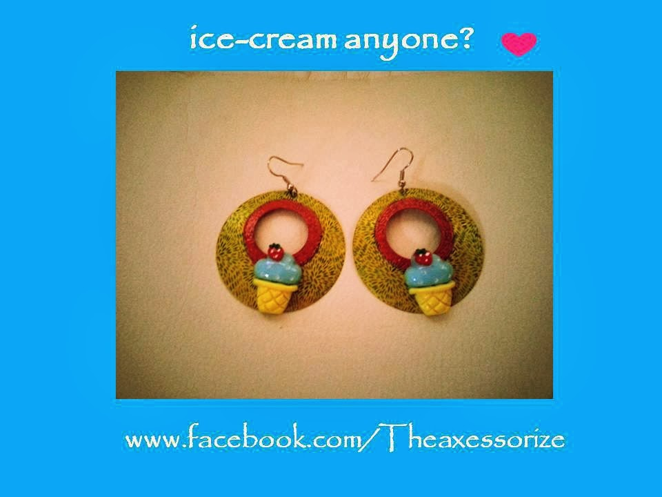 TheaXessorize Ice-Cream Earrings