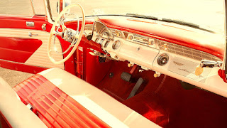 1956 Pontiac Star Chief Convertible Dashboard
