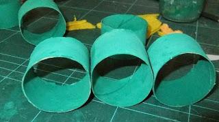 DIY, Arbol de Navidad con Tubos de Papel Higienico