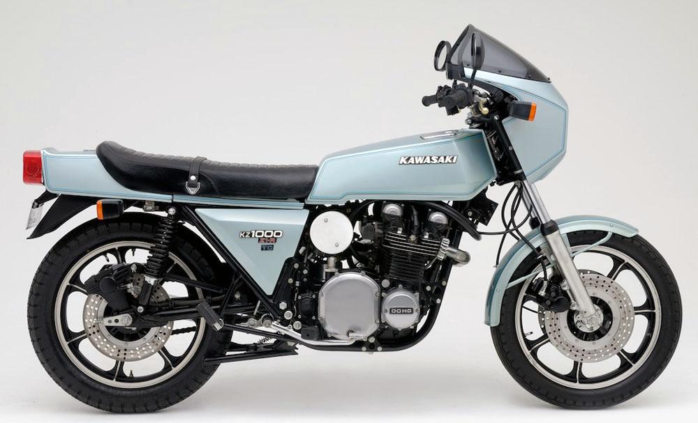 Oddbike Kawasaki Z1r Tc The Psycho Turbo Z
