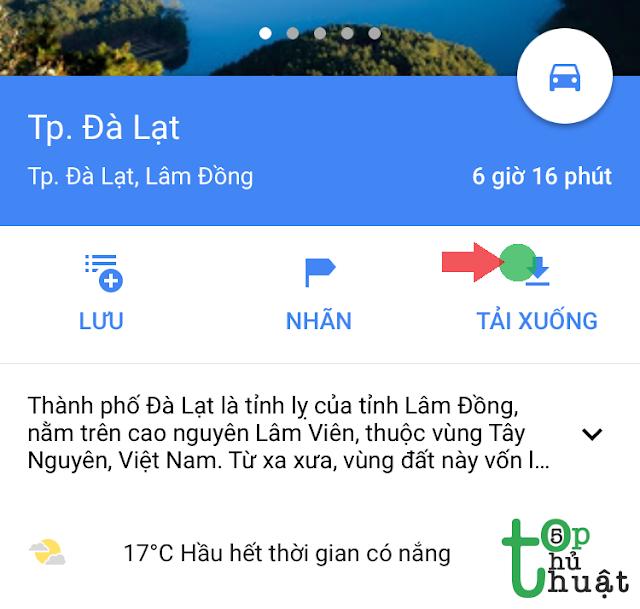 Tải google map offline