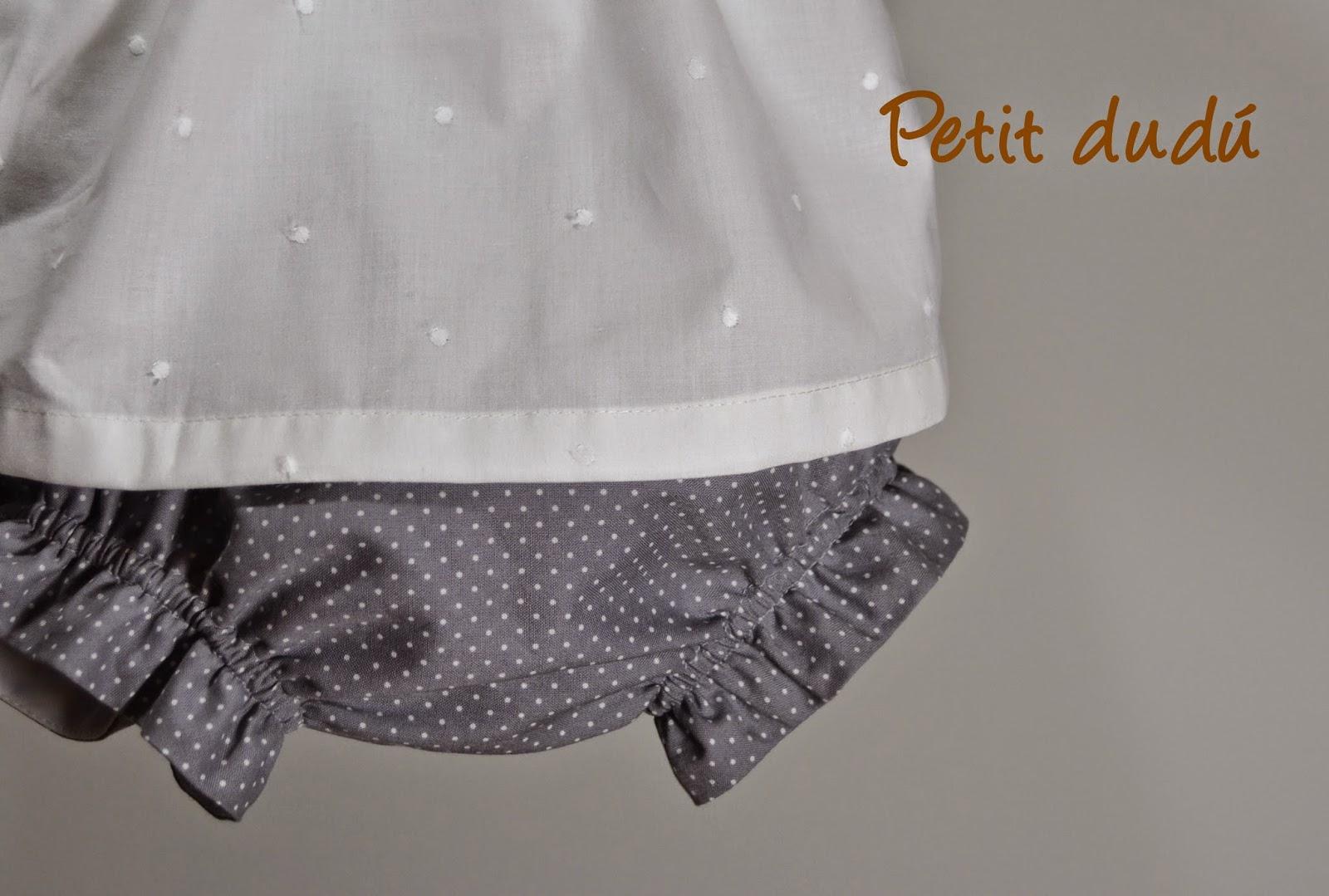 conjunto blusa y cubrepañal petitdudu