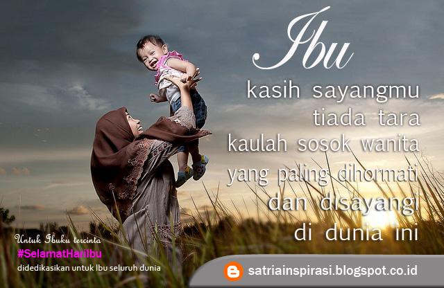Berbagi Inspirasi Hidupku Ibu