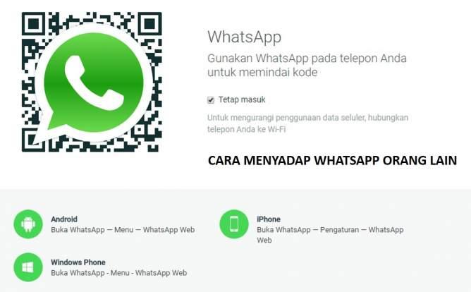 Cara Menyadap Whatsapp Orang Lain Tanpa Ribet, whatsclone, Duplicate Whatsapp