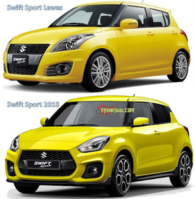 Swift Sport Lawas vs 2018