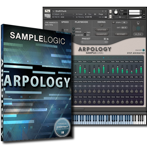 Sample Logic - ARPOLOGY KONTAKT Library