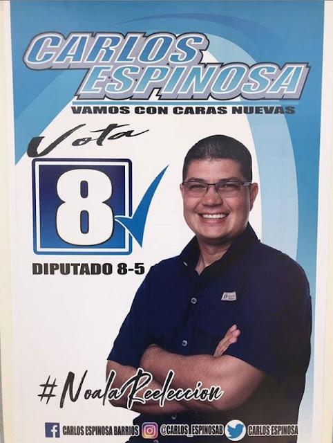 Carlos Espinosa 8-5