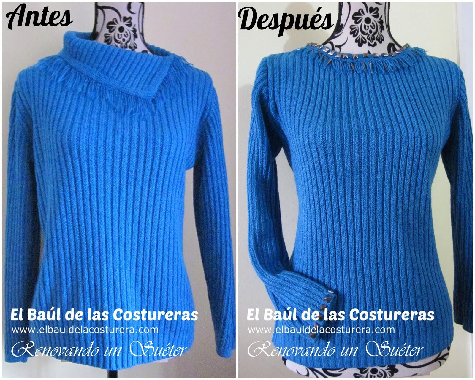 Renovando el Suéter preferido