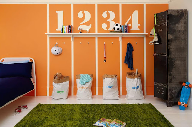 Dulux Sports Bedroom #KidsBedroom