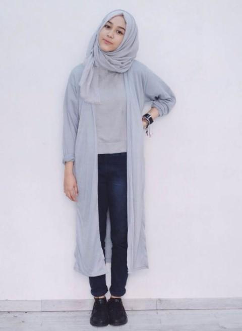 30 Tutorial Fashion Hijab Modern Trend 2018 Syar I Kekinian