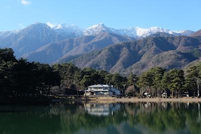 長野県下伊那郡飯島町の風景 千人塚公園