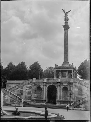 Friedensdenkmal / Friedensengel München - um 1920/30