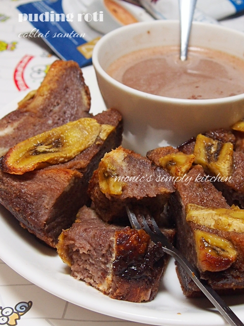 resep puding coklat santan