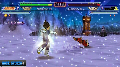 Dragon Ball Z: Shin Budokai - Another Road PPSSPP
