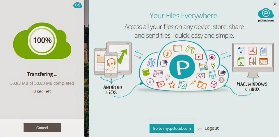 How to use the Cloud: The pCloud Transfer