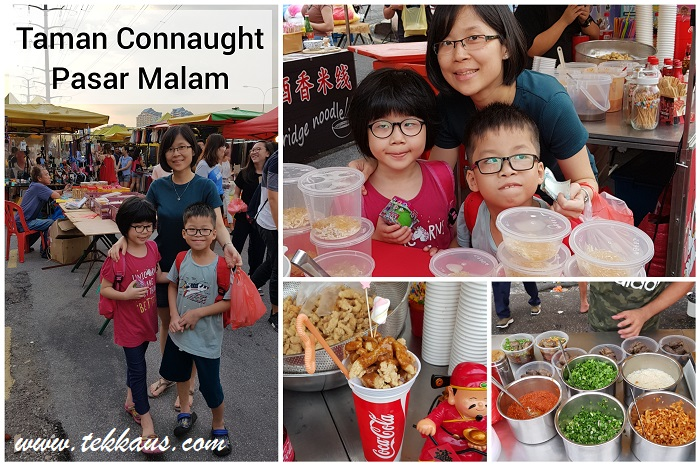 Taman Connaught Pasar Malam-A Night Market of Food Paradise-What To Eat